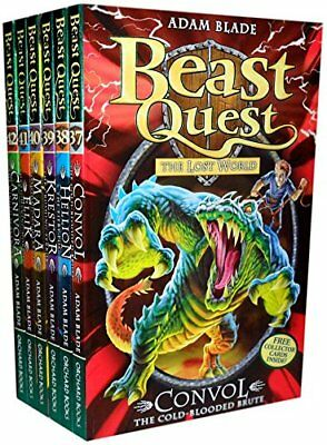 Beast Quest Series 7 (37 to 42)6 Books Collection Set By Adam Blade BrandNew Set