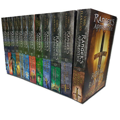 John Flanagan Collection Rangers Apprentice 12 Books Set Pack New,
