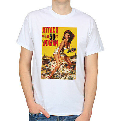 Attack of the 50ft woman 1993 original uk quad film for Attack of the 50 foot woman t shirt
