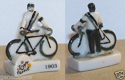 Fèves CENTENAIRE TOUR DE FRANCE 2013 CARTE OFFICIELLE VELO CYCLISME FEVE PORCELAINE 3D