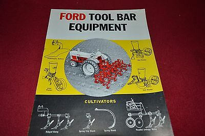 Ford Tractor Tool Bar Equipment Dealer's Brochure LCPA2