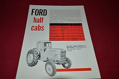 Ford Tractor Half Cab Dealer's Brochure LCPA2