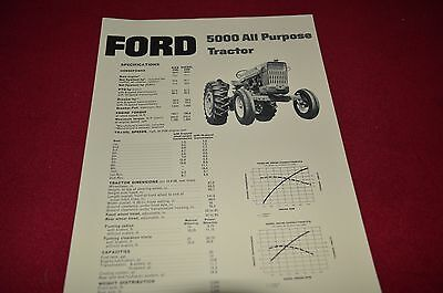 Ford Tractor 5000 Tractor Dealer's Brochure LCPA2