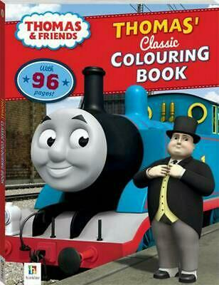 Thomas and Friends Thomas' Classic Colouring Book Paperback Book