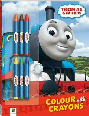 Thomas and Friends Colour with Crayons Free Shipping!