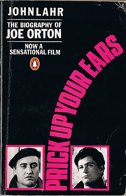 JOE ORTON biography by John Lahr PRICK UP YOUR EARS film edition GARY OLDMAN cvr