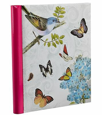 Vintage Butterfly Photo Album Large Self Adhesive Art Album 40 Sides -BB40