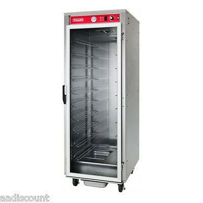 NEW VULCAN 18 PAN NON INSULATED HEATED HOLDING & PROOFING CABINET VP18 PROOFER