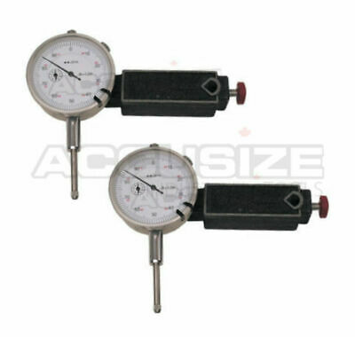 """2 Sets of Mini. Universal Magnetic Base with 0-1"""" Dial Indicator, #EG08-0017x2"""