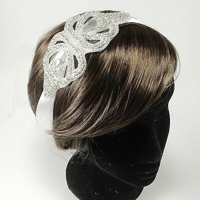 Vintage Bridal Wedding Headband Headpiece Hair Piece Rhinestone Hair Accessories