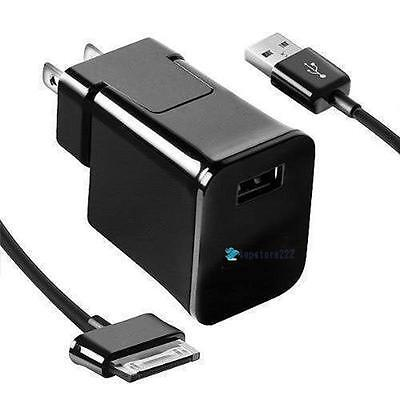 """USA Travel Wall Charger Cable For 7/8.9 /10.1"""" Samsung Galaxy Tab 2 Tablet TR"""