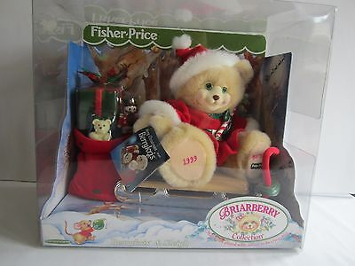 FISHER PRICE BERRYKRIS HOLIDAY BEAR FROM BRIARBERRY COLLECTION NIB