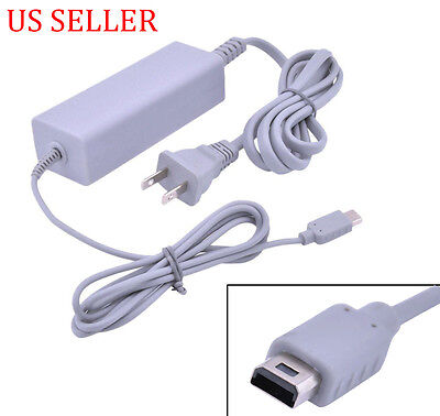 AC Power Adapter Charger for Nintendo Wii U Game Pad Controller NEW