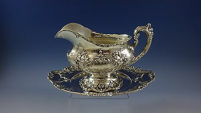 Francis I By Reed & Barton Sterling Silver Gravy Boat With Underplate (#0954)