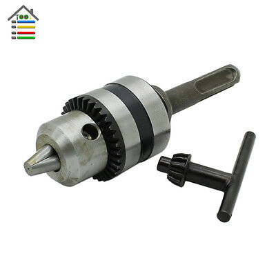 """For SDS Plus Chuck Adaptor Rotary Hammer Drill Tool 1.5-10mm Thread 1/2""""-20UNF"""
