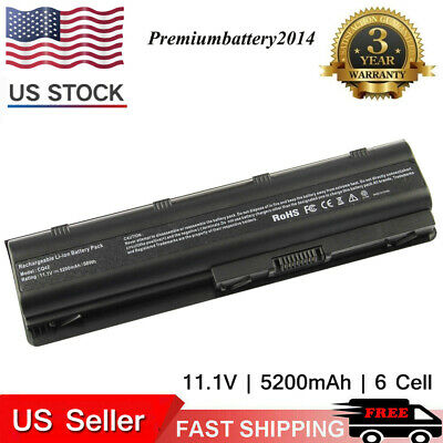 Long Life Notebook Laptop Battery for HP MU06 MU09 SPARE 593554-001 593553-001 p