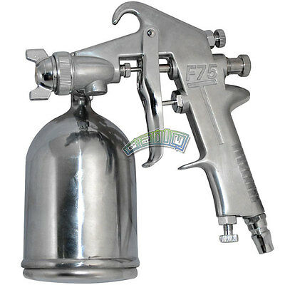 400cc  Gravity Feed Paint Air Spray Gun Auto Boat Car Body Repair Tool 1.5mm