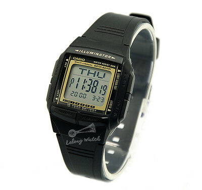 -Casio DB36-9A Data Bank Watch Brand New & 100% Authentic