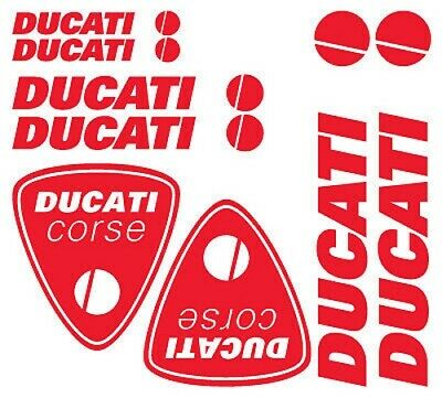 Kit adesivi vinile tuning DUCATI custom moto decals stickers