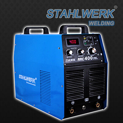 STAHLWERK ARC 400 IGBT - MMA E-HAND/ STICK INVERTER WELDER with 400 Ampere/ 400V