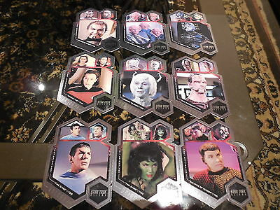 2014 Star Trek Aliens - Complete 9 Card First Appearances Insert Set FA1-FA9