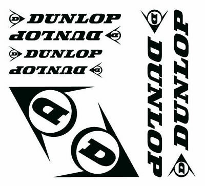 Kit adesivi tuning DUNLOP custom moto decals stickers