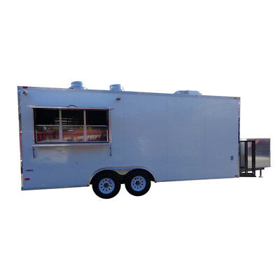Concession Trailer 8.5'x20' White - Catering Food Vending Event