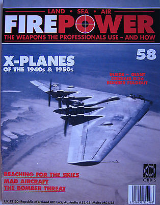 FIRE POWER - LAND SEA AIR - ISSUE 58, The Weapons The Professionals Use Magazine
