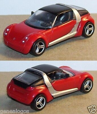 GMBH MPG FERRERO SMART FORTWO COUPE ROUGE GRIS HO 1//86 1//87