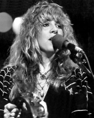 Stevie Nicks Photo Fleetwood Mac 8x10 or 8x12 inch Live Concert Studio Print 15
