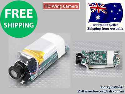 HD Wing Camera 1280x720p 30fps 5MP CMOS RC Plane  RECORD IN-FLIGHT VIDEO Spy