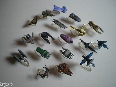 BABYLON 5 micro machines by Galoob - ships collection