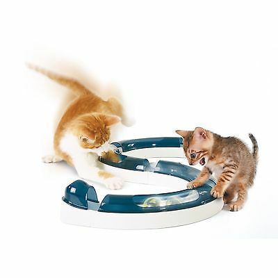 Hagen Cat It Senses Reflexes Play Circuit For Cat Cats Kittens Pets Play Chase • EUR 18,24