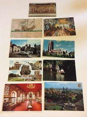 Vintage Mixed Lot Of Mid Century Great Britain Postcards PGB5