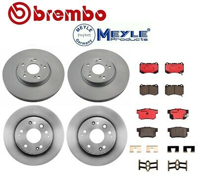 For Acura TL Type S 3.5 04-08 Brembo OPparts Complete Brake KIT Disc Rotors Pads