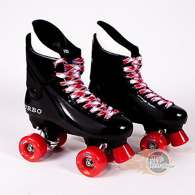Ventro Pro Turbo Quad Roller Skate, Bauer Style - Red
