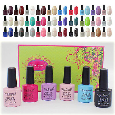 Clou Beaute Manicure Soakoff Soak Off UV Gel Nail Polish Art 8ml LED Dryer Cure