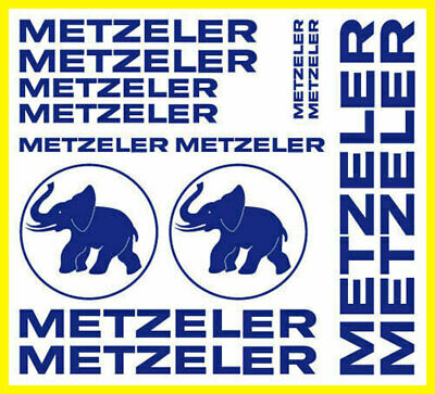 Kit adesivi tuning METZELER custom moto decals stickers