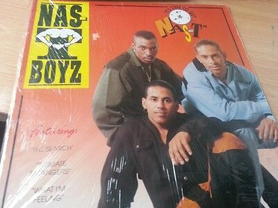 "Nas-T Boyz ‎– It's Time To Get Nas-T  (ORIGINAL 12"" VINYL LP)"