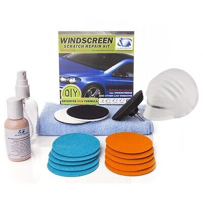 Windshield/Windscreen Scratch Repair Kit - Auto Glass Polishing & Scratch Repair