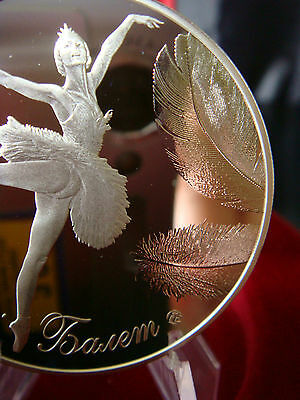 BELARUSIN BALLET, Belarus 2013, Pure Silver Ltd Edition 10,000