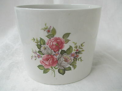 Vintage England James Kent porcelain Old Foley Vase Harmony Rose