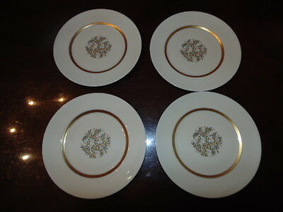 (4) Franciscan FREMONT China (NO TRIM) BREAD & BUTTER PLATES