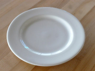 "Syracuse China Pilgrim Wide Rim 9-3/4"" Plate - White Undec (951250318) (Each)"