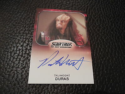 2014 Star Trek Aliens - Patrick Massett as Duras Autograph Card
