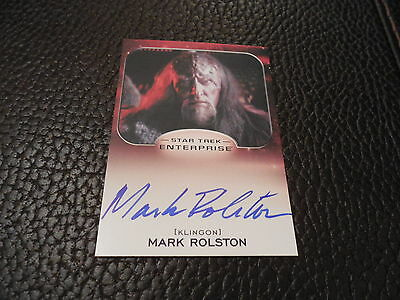 2014 Star Trek Aliens - Mark Rolston as Captain Magh Autograph Card
