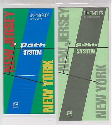 MINT  1998   *   PATH       Map - Guide - Timetable