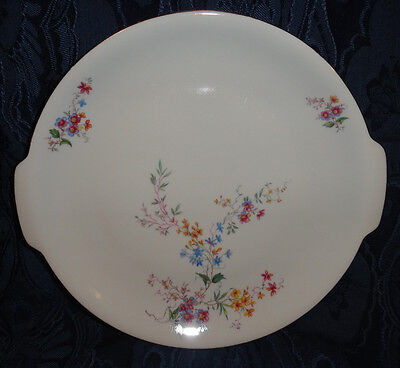 KPM Krister GERMANY Serving Plate / Cake Plate  Floral Pattern