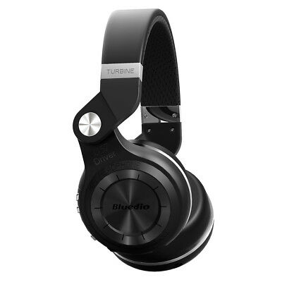 NEW BLUEDIO T2S Wireless Bluetooth 4.1 Stereo Headphones Headsets Stereo (Black)