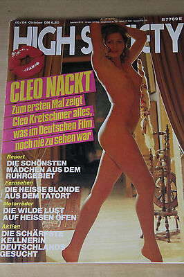 HIGH SOCIETY 10-1984 DEUTSCH-CLEO KRETSCHMER